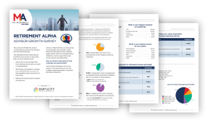 retirement alpha advisor survey report